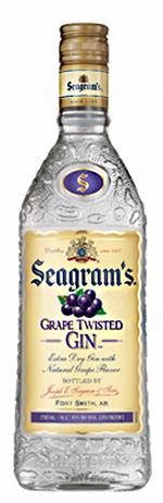 Seagram Gin Grape Twisted